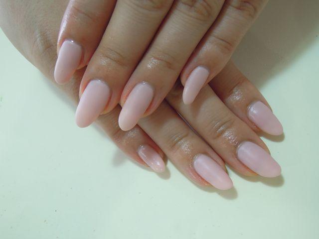 Pink Mat Nail_a0239065_1838489.jpg