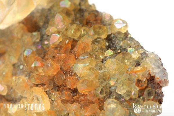 レインボーカルサイト原石(チャイナ産)_d0303974_16121333.jpg