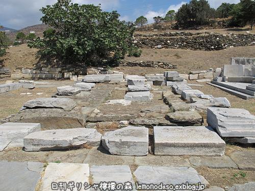 ティノス島のポセイドンとアンピトリテーの祭壇_c0010496_20044380.jpg