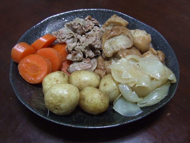 わさび菜のサラダ_f0019498_14131019.jpg