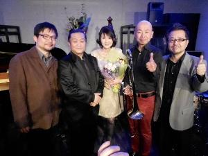 Live at Jazz工房Nishimura♪2014.3.15_c0139321_17263810.jpg