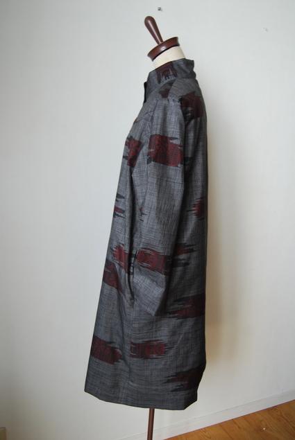 着物リメイク・大島紬のコート_d0127925_14592762.jpg
