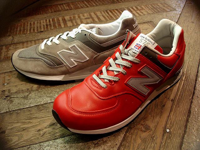 "NEW : new balance [M576] RED \""UK\"" & [M997] GREY \""USA\"" [LIMITED] !!_a0132147_037540.jpg"