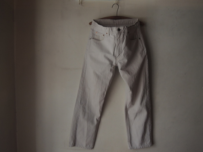LEVIS 505 WHITE & MILITARY TROUSERS PANTS--RECOMMEND--_c0176867_16451215.jpg