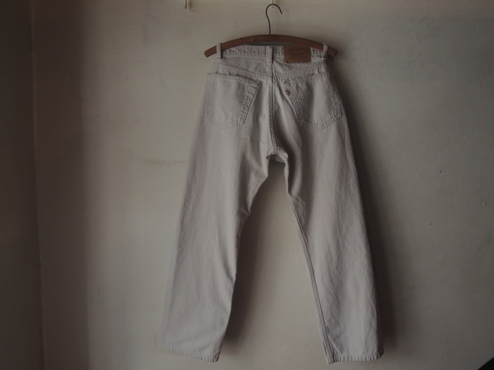 LEVIS 505 WHITE & MILITARY TROUSERS PANTS--RECOMMEND--_c0176867_1645257.jpg