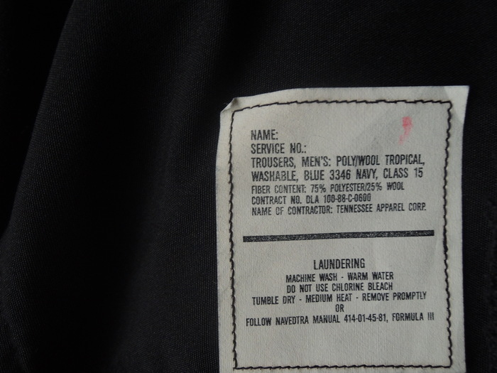 LEVIS 505 WHITE & MILITARY TROUSERS PANTS--RECOMMEND--_c0176867_183406.jpg