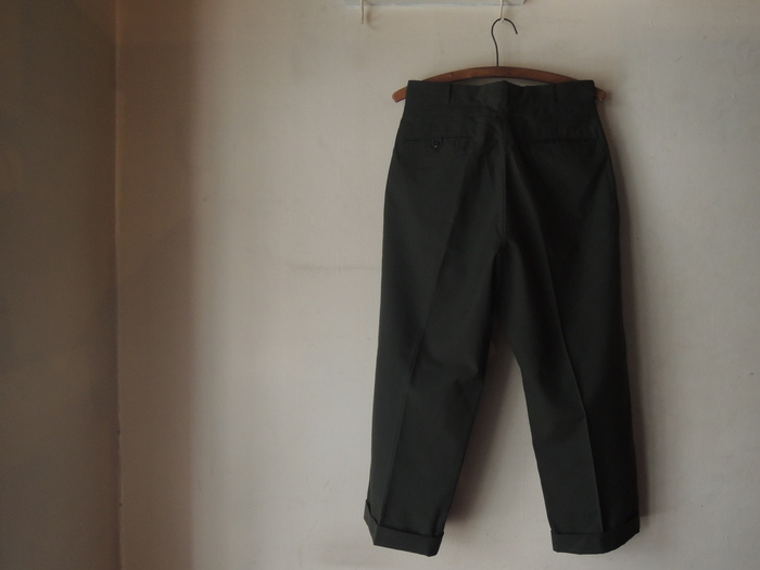 LEVIS 505 WHITE & MILITARY TROUSERS PANTS--RECOMMEND--_c0176867_21232434.jpg