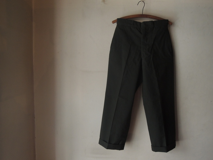 LEVIS 505 WHITE & MILITARY TROUSERS PANTS--RECOMMEND--_c0176867_2123720.jpg