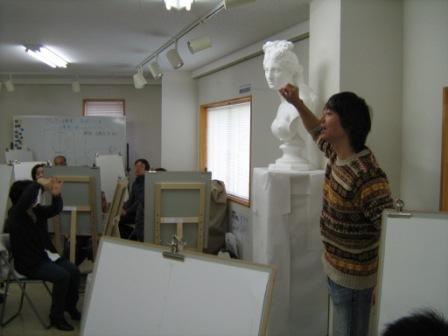 アムス一日教室「基礎デッサン講座Ⅱ」_f0238969_11285536.jpg