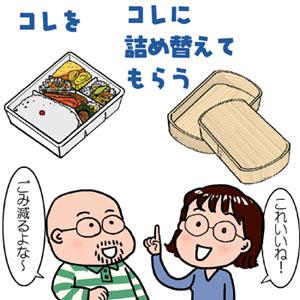 自前のお弁当箱で、ごみダイエット_f0322969_19480789.jpg