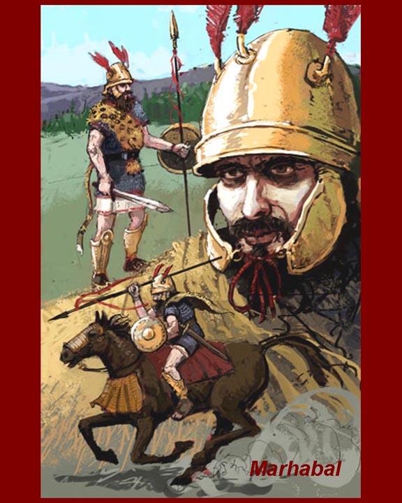 漢尼拔的騎兵指揮官-瑪哈巴爾_e0040579_5371943.jpg