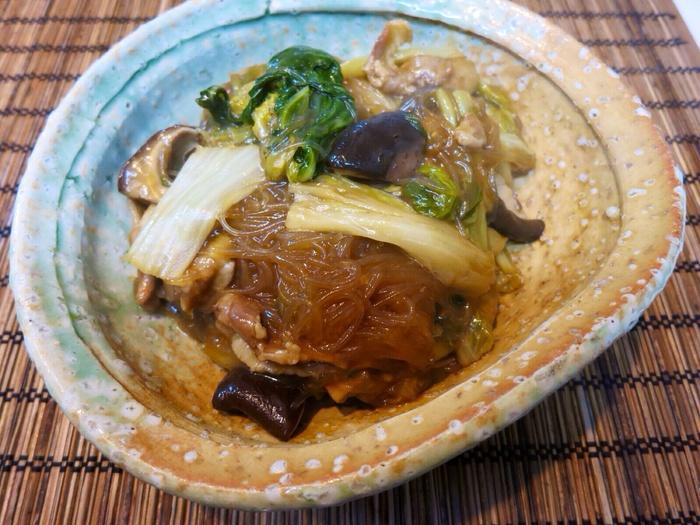 鍋の残り野菜で_a0258686_7133043.jpg