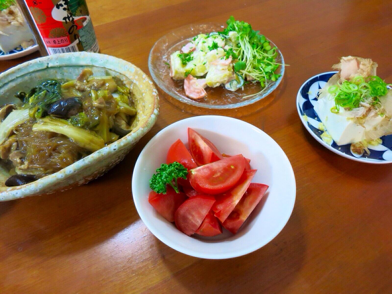 鍋の残り野菜で_a0258686_7323296.jpg