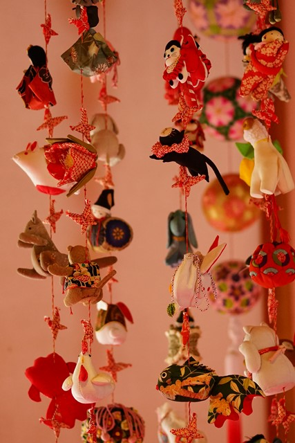 北鎌倉 明月院 満開の梅とつるし飾り_b0145398_0461150.jpg