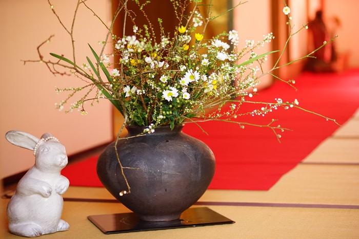 北鎌倉 明月院 満開の梅とつるし飾り_b0145398_0465531.jpg
