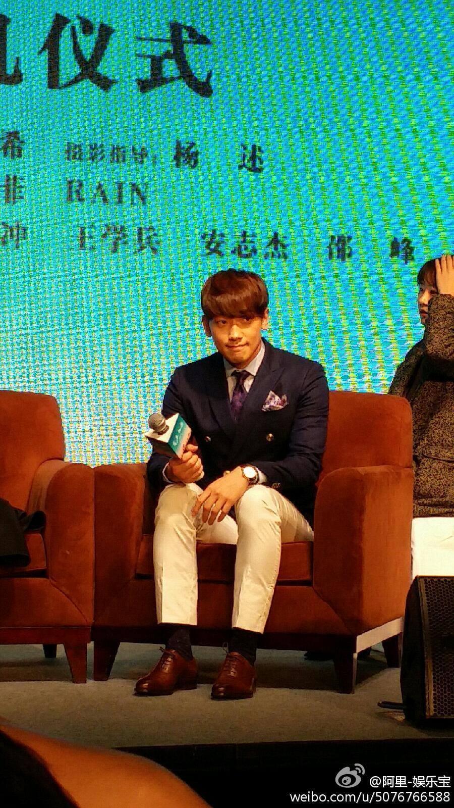 Rain 中国で「露水红颜」映画の記者会見_c0047605_18154172.jpg