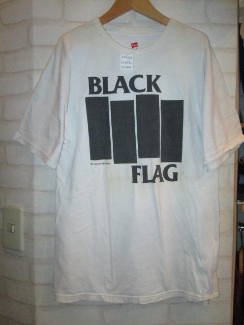 BLACK FLAG (ブラック・フラッグ) ロゴTシャツ_f0181819_15555092.jpg