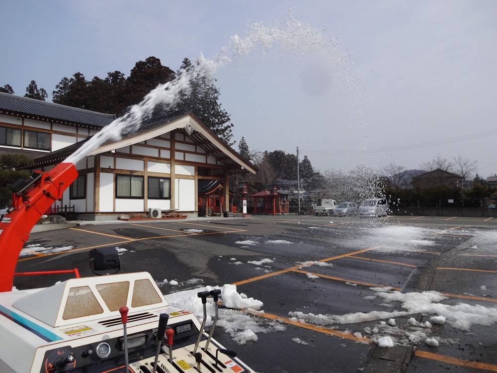 融雪に撮り鉄_c0111229_1975285.jpg