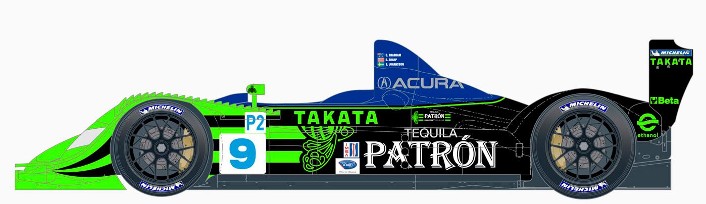 """【趣味】Ninco ACURA LMP2 """"Patron""""_a0293131_1557297.jpg"""