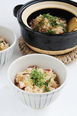 BRITAの水で作る世界の料理レシピ  「たこ飯」_f0114146_2013356.jpg