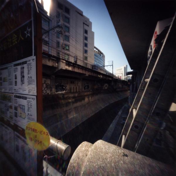 東横線 地下化切替工事直前の渋谷から代官山(3) Pinhole Photography _f0117059_14323294.jpg