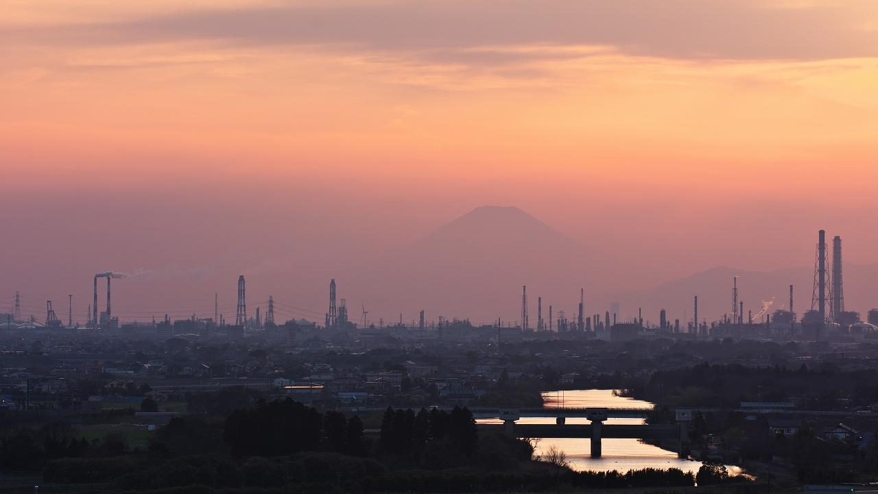 市原の夕景 3_f0018464_1137248.jpg