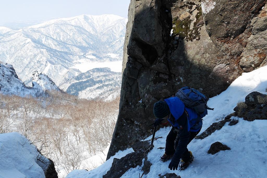 3月26日、恵庭岳-北東尾根から-_f0138096_22411634.jpg