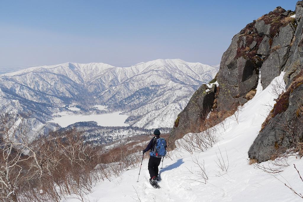 3月26日、恵庭岳-北東尾根から-_f0138096_22412458.jpg