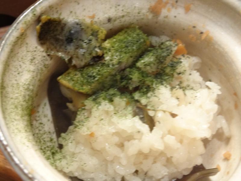 この日は餃子に焼売、春の香りの天麩羅に鮑釜飯です。_c0225997_8585488.jpg