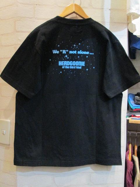 HEADGOONIE (ヘッドグーニー) 第三種接近遭遇 Tシャツ_f0181819_17415656.jpg