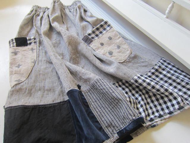 リトアニア麻スカート。_b0207631_16533660.jpg