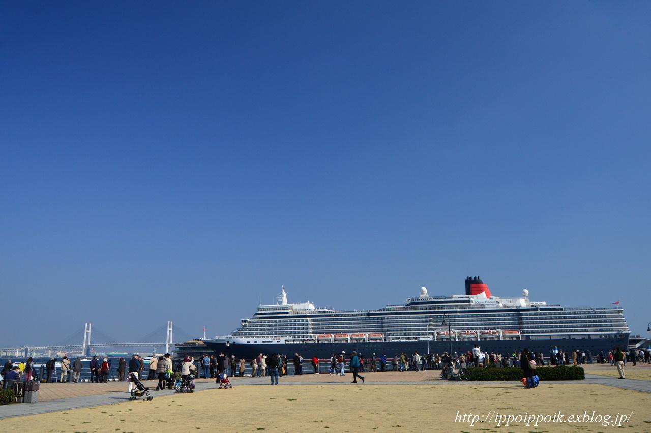 Queen Elizabeth 2014 横浜寄港 part-2_e0152866_23381849.jpg