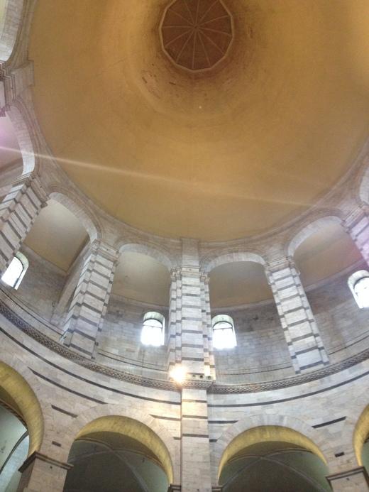 26/03/2014 ピサの洗礼堂の音響効果とドゥオモの卵_a0136671_0465431.jpg