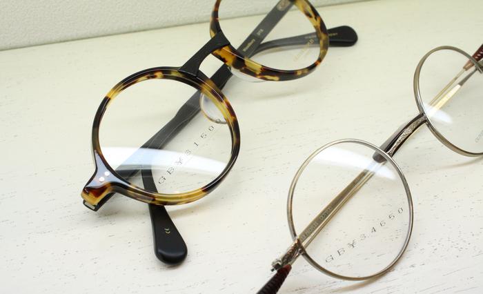 「Round Eyewear by GB」_f0208675_18355317.jpg