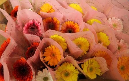 卒園式のスタンド花~!_d0227610_03113349.jpg