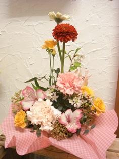 送別用のお花~生花いろいろ~~!_d0227610_21145050.jpg