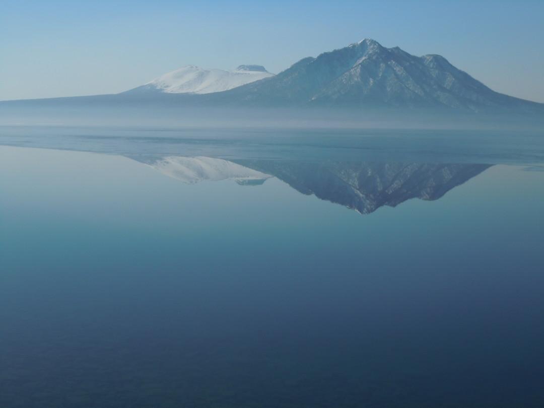 """2014年3月 『春の支笏湖、樽前山スキー』 March, 2014 \""""Lake Shikotsu in Spring and ski in Mt Tarumae\""""_c0219616_546091.jpg"""