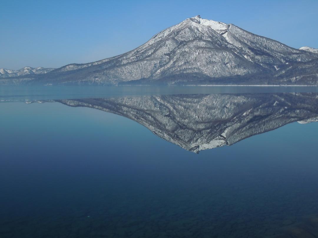 """2014年3月 『春の支笏湖、樽前山スキー』 March, 2014 \""""Lake Shikotsu in Spring and ski in Mt Tarumae\""""_c0219616_5481381.jpg"""