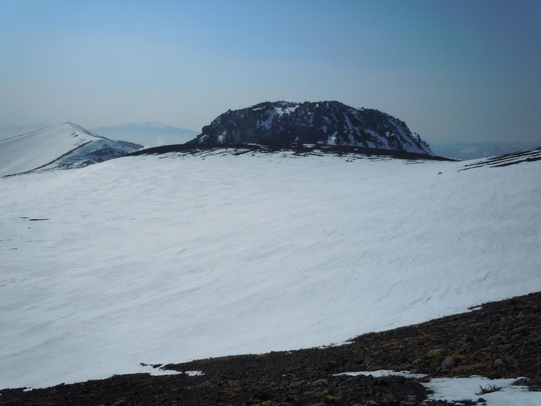 """2014年3月 『春の支笏湖、樽前山スキー』 March, 2014 \""""Lake Shikotsu in Spring and ski in Mt Tarumae\""""_c0219616_5523123.jpg"""