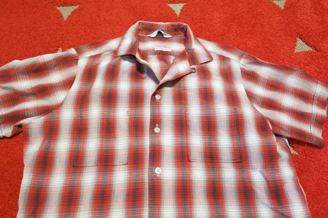 3月29日(土)入荷!60'S SPORTS MAN コットン オンブレーシャツ!_c0144020_13513671.jpg