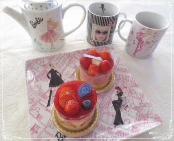 Barbie tea set☆_b0014124_0222422.jpg