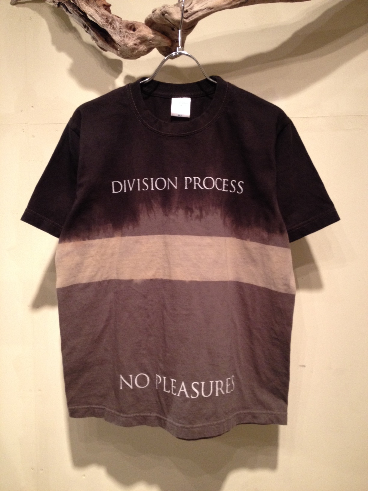 NO PLEASURES S/S Tee (Border Dye ver.)_f0126931_16584767.jpg