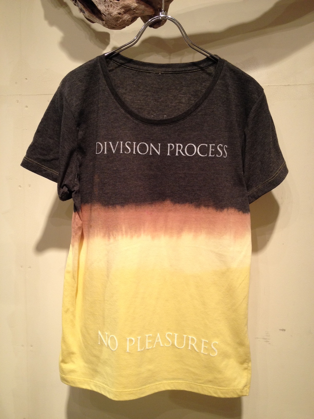 NO PLEASURES S/S Tee (Border Dye ver.)_f0126931_1659563.jpg