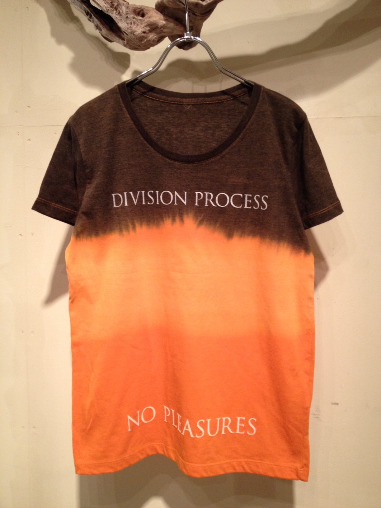 NO PLEASURES S/S Tee (Border Dye ver.)_f0126931_1659627.jpg