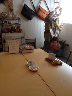 本日の oneday cafe。_a0164280_1655723.jpg