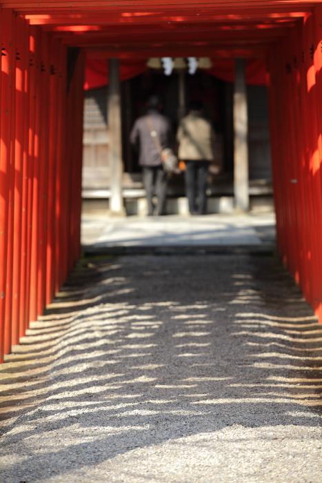 水前寺成趣園内の出水神社_e0135098_1754391.jpg