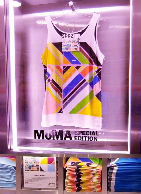 MoMAが全面協力するユニクロNY5番街店内の「SPRZ NY」ストアに行ってきました!!!_b0007805_17103591.jpg