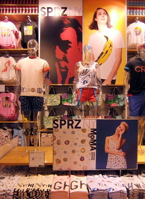 MoMAが全面協力するユニクロNY5番街店内の「SPRZ NY」ストアに行ってきました!!!_b0007805_17114918.jpg