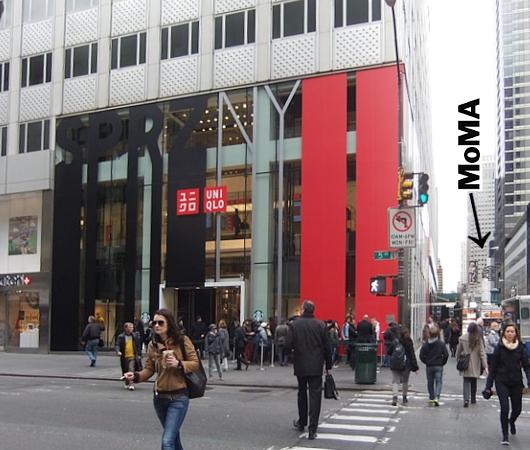 MoMAが全面協力するユニクロNY5番街店内の「SPRZ NY」ストアに行ってきました!!!_b0007805_1783585.jpg