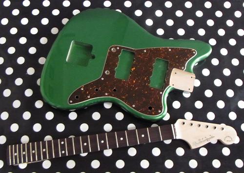 「Green Mica MetallicのPsychomaster」の塗装が完了!_e0053731_180351.jpg